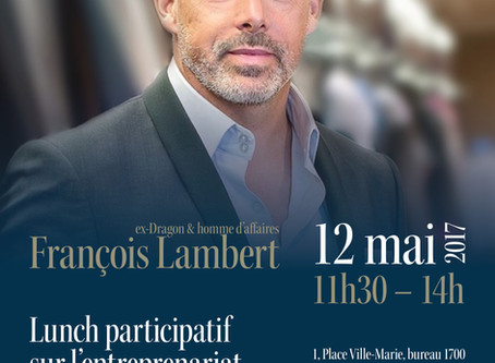 Lunch participatif avec Francois Lambert