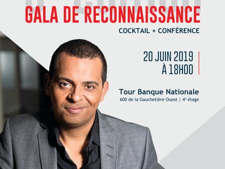 6e Gala Reconnaissance - Cocktail dînatoire avec Gregory Charles