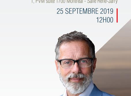Dîner-conférence pour entrepreneurs avec Serge Beauchemin