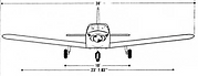 Piper PA28 Sketch (Front)