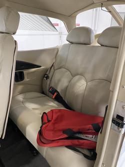N508ND Rear Seats