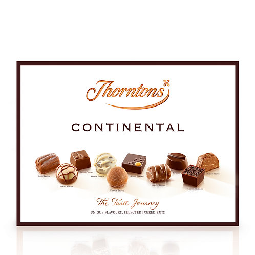 Thorntons Continental Chocolate Box (248g)
