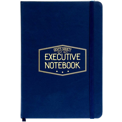 Gent's Society Executive Notebook
