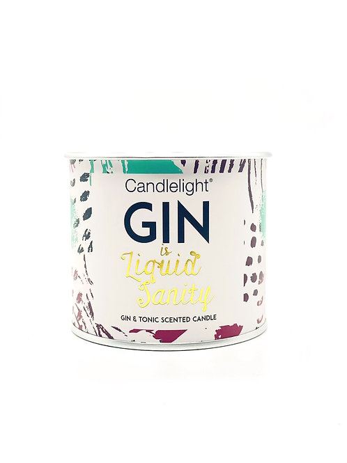 Gin is Liquid Sanity Scented Candle