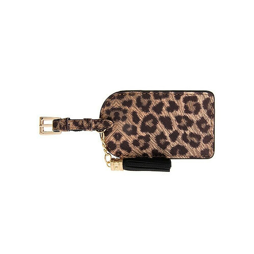 Leopard Print Luggage Tag (Set of 2)