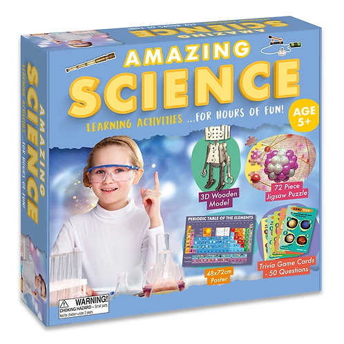 Learning Activity Set - Science (For Kids)