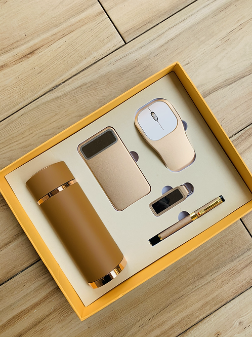Luxe Gold Corporate Gift Set