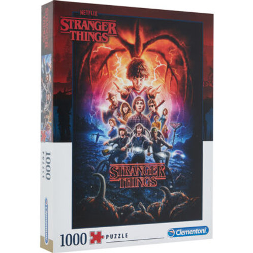 CLEMENTONI Stranger Things One Thousand Piece Puzzle