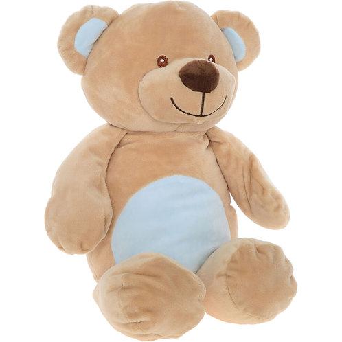 KELLY Soft Teddybear (Brown+Baby Blue)