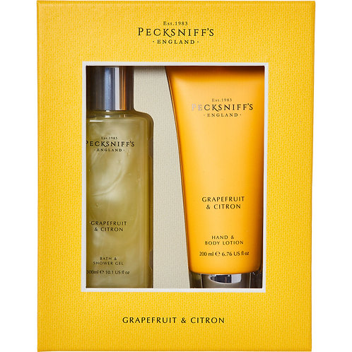 Pecksniffs Grapefruit & Citron Gift Set
