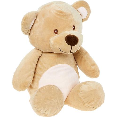 KELLY Soft Teddybear (Brown+Cream)