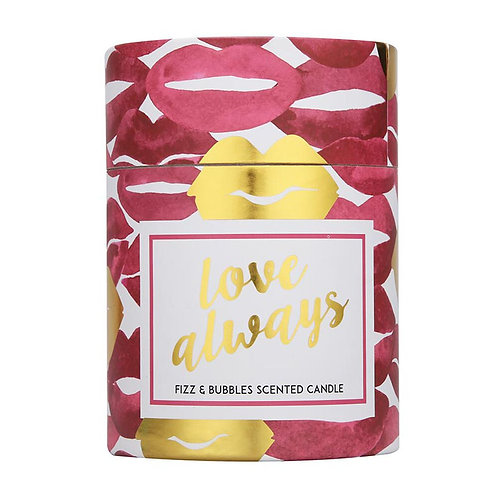 Love Always Scented Candle