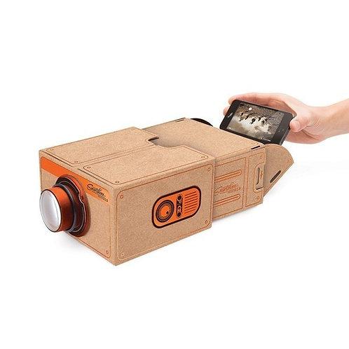 LUCKIES Brown Smart Phone Projector