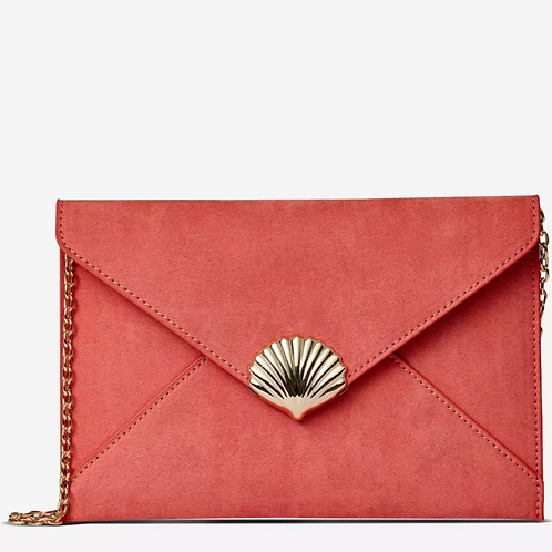 Dorothy Perkins Orange shell clutch bag - ORANGE