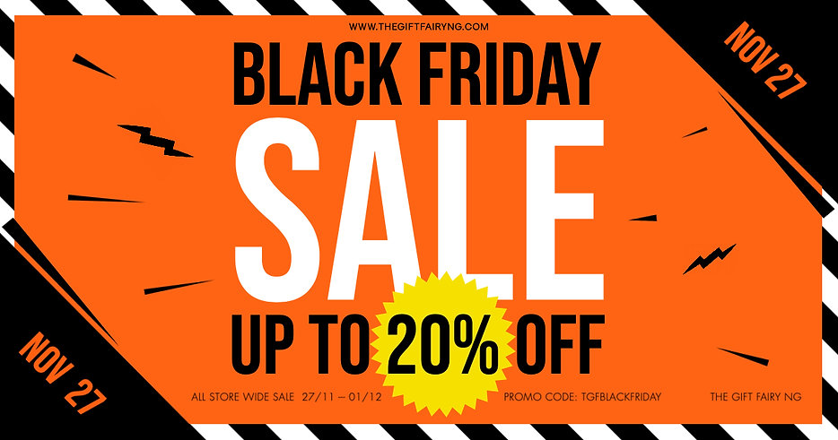 Copy of BLACK FRIDAY BANNER - Made with