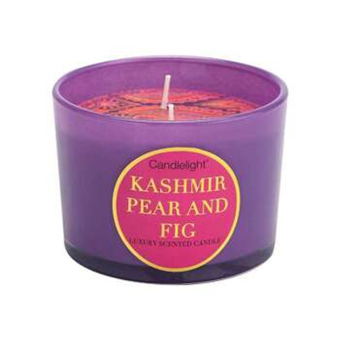 Kashmir Pear & Fig Luxury Scented Candle