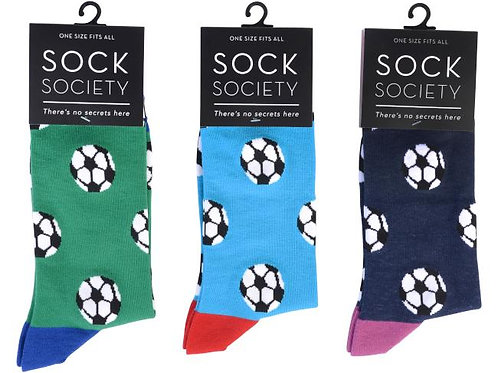 Football Socks by Sock Society- 1 pair