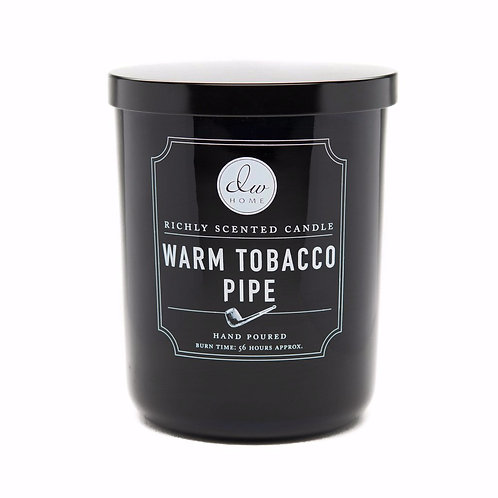 DW HOME Warm Tobacco Pipe Scented Candle (Large)