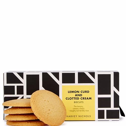 HARVEY NICHOLS Lemon Curd & Clotted Cream Luxury Biscuits 200g