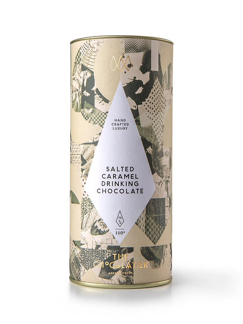 The Chocolatier Salted Caramel Drinking Luxury Hot Chocolate
