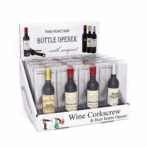 Wine Themed Bottle Opener/Cockscrew
