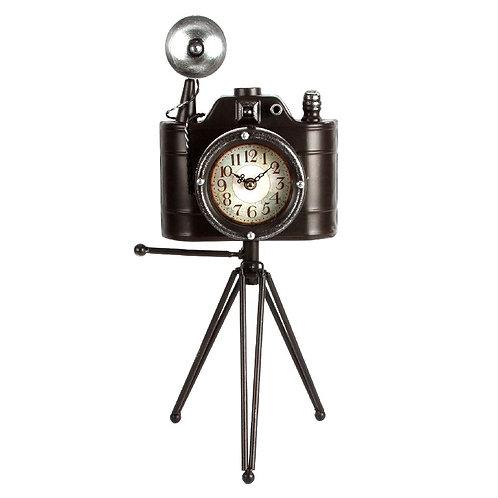 Camera Mantel Clock