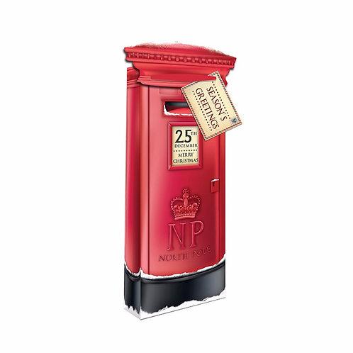 Christmas Post Box Bottle Bag