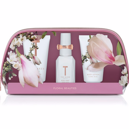 Ted Baker Floral Pink Beauty Gift Set (Pink)