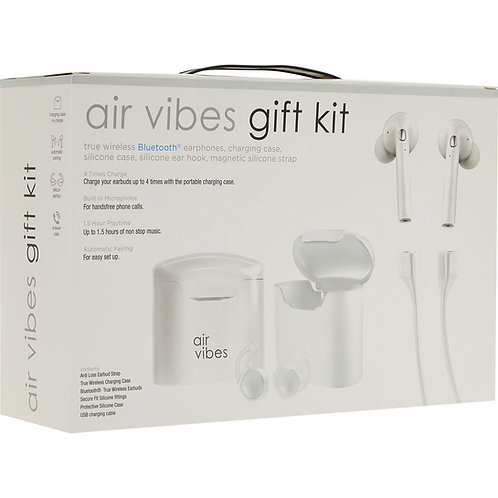 Air Vibes Gift Kit w/t Bluetooth earphones