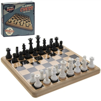 Retro Chess Board Game