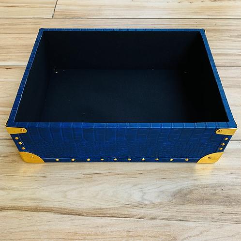 Navy Blue OpenTrunk + Gold Fittings