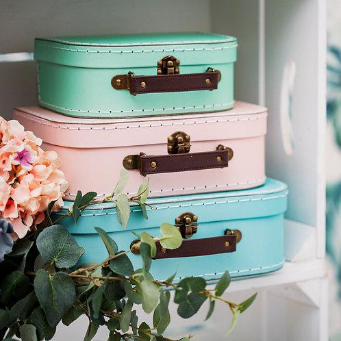 Pastel Mini Gift Suitcase