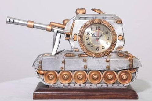 Armoured Tank Themed Clock