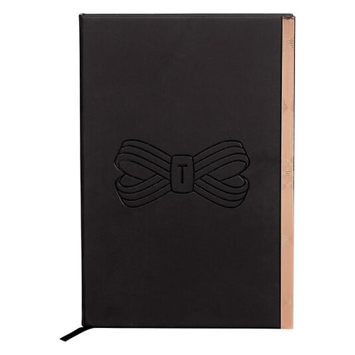 Ted Baker Black Bow A5 NoteBook