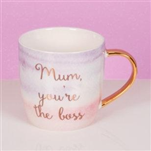 Mum You're the Boss Mug