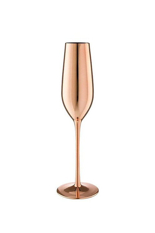 Rose Gold Stainless Steel Copper Champagne Flutes