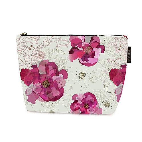 Peony Cosmetic Bag