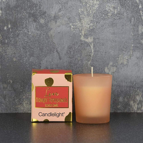 Love Midnight Pomegranate Candle