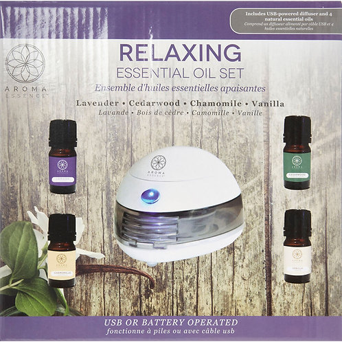 Aroma Essence Relaxing Diffuser Set
