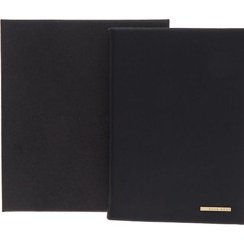 HUGO BOSS Dark Blue A6 Essential Notebook