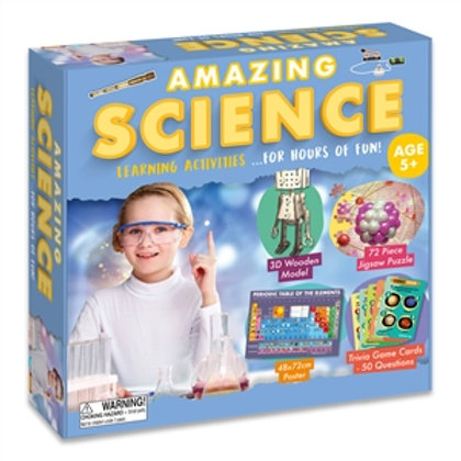 Amazing Science Learning Activities Set - For Kids