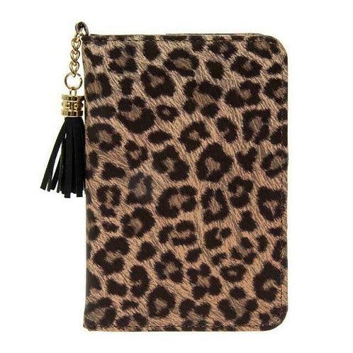 Leopard Print Passport Holder