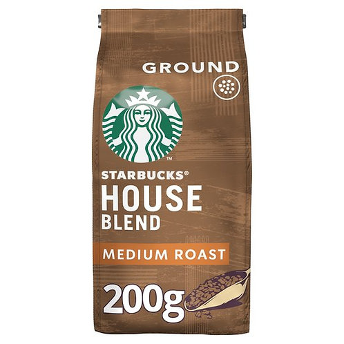 Starbucks House Blend Ground Coffee 200G