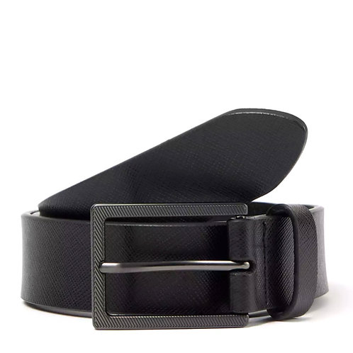 J by Jasper Conran Black Leather Reversible Belt