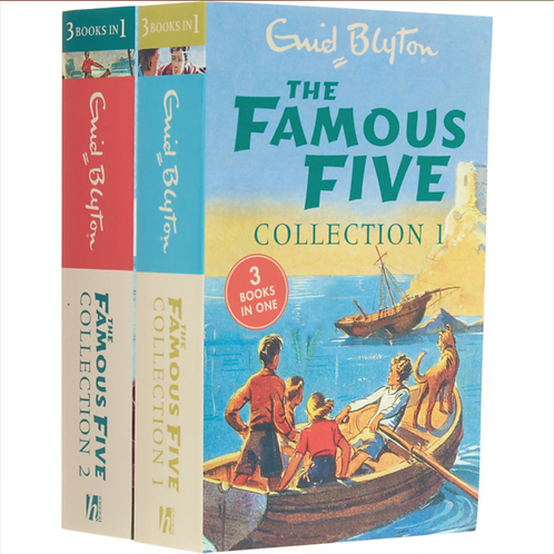 ENID BLYTON The Famous Five Collections One & Two