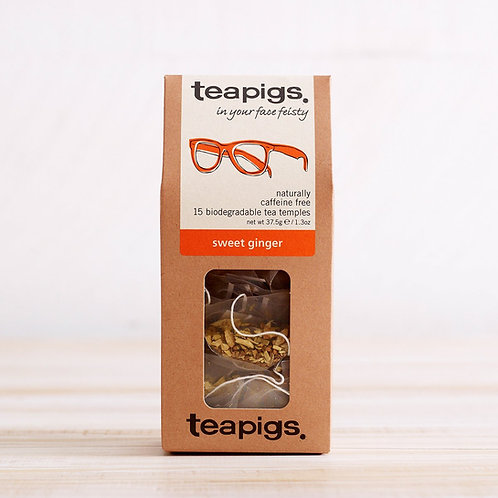 Teapigs Sweet Ginger Tea - Herbal Tea
