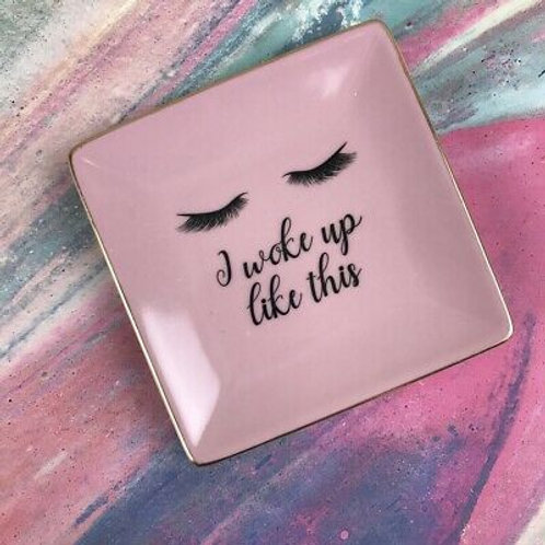 Hello Gorgeous Eyelash Trinket Dish