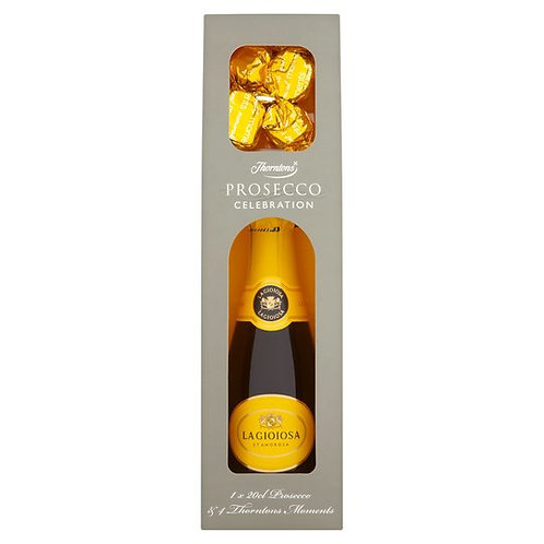 Prosecco & Thorntons Truffle Giftset