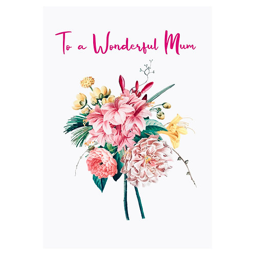Mum Card III
