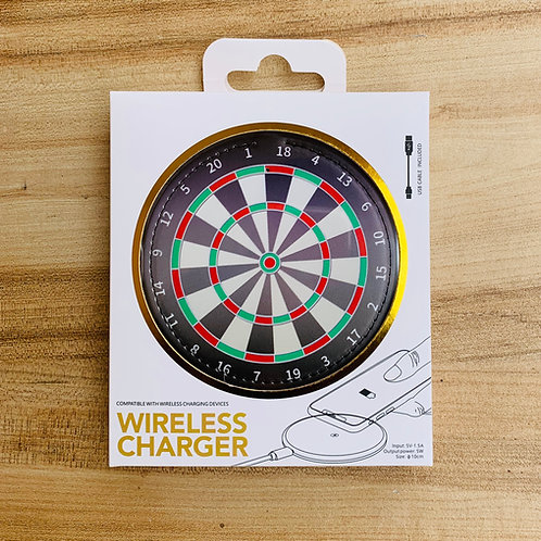 Wireless Charger - DARTBOARD